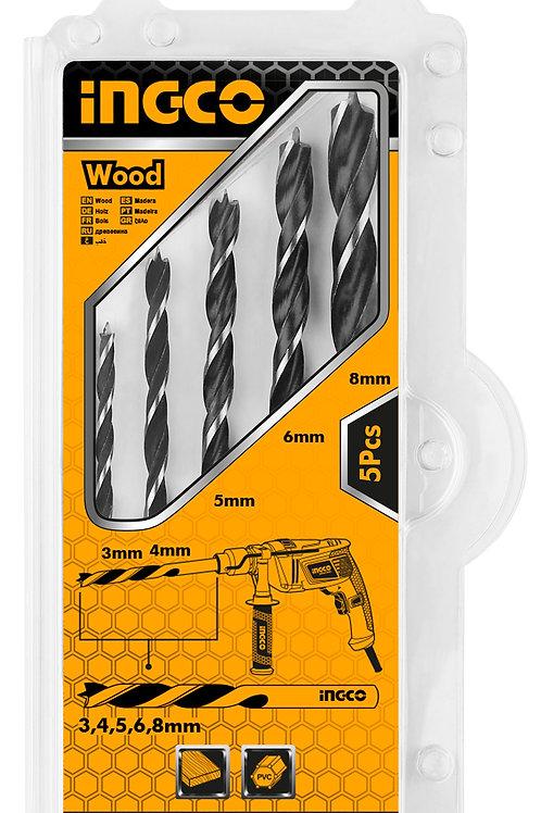 AKDB5055 - Bộ 5 mũi khoan gỗ