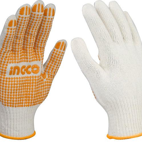 HGVK05 - Găng tay dệt kim & có đốm chấm nhựa PVC