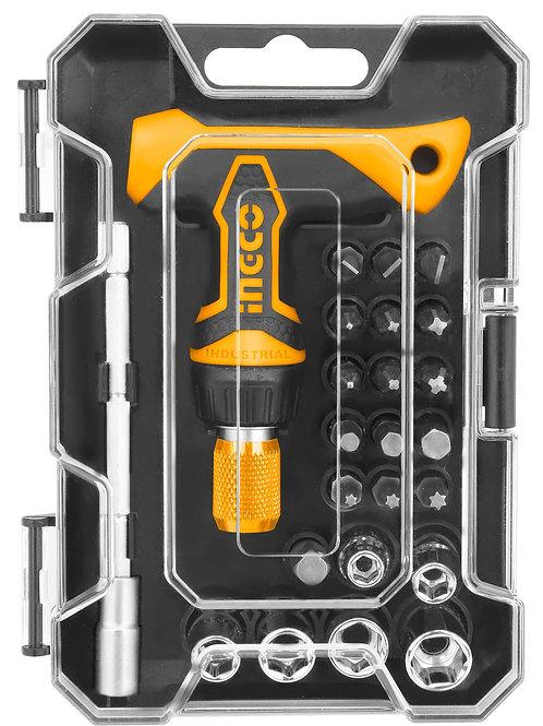 HKSDB0188 - Bộ 18 tua vít tay cầm chữ T