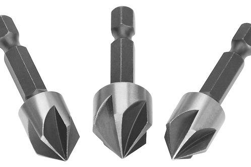 DBCS0031 - Bộ 3 mũi vát mép lỗ