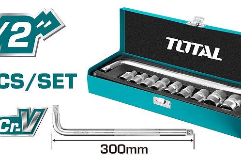 THTL121101 - Bộ 10 đầu tuýp 1/2 inch
