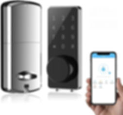 Smart-Home-Door-Lock-Bluetooth-With-Touc