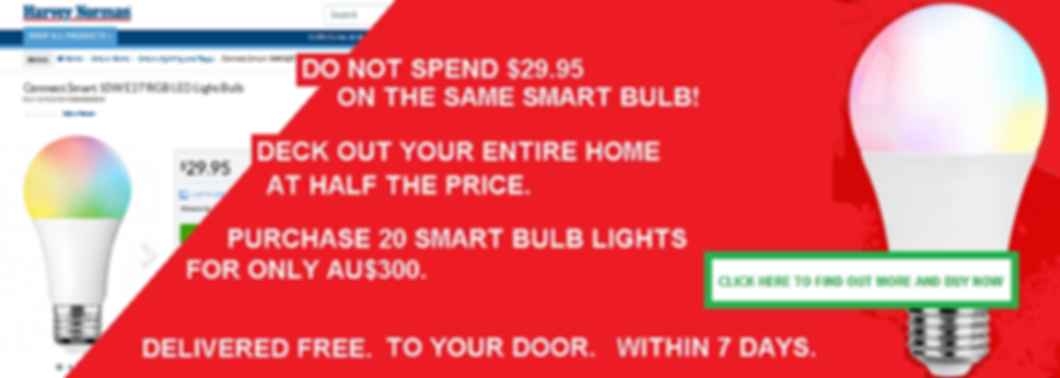 TREX ELECTRONIC SMART BULB $300 OFFER BA