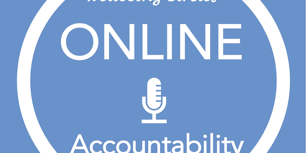 New Pathways Wellbeing Circles - ONLINE Accountability