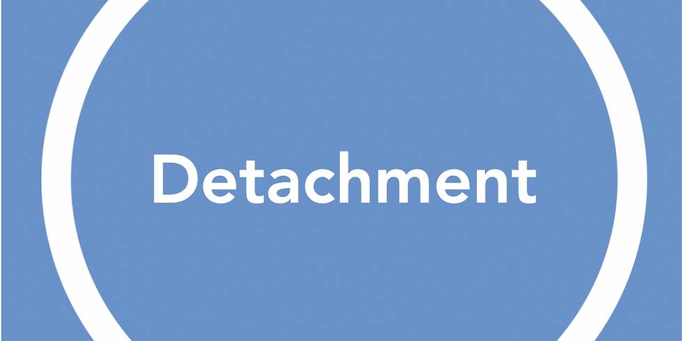 New Pathways Wellbeing Circles - Detachment
