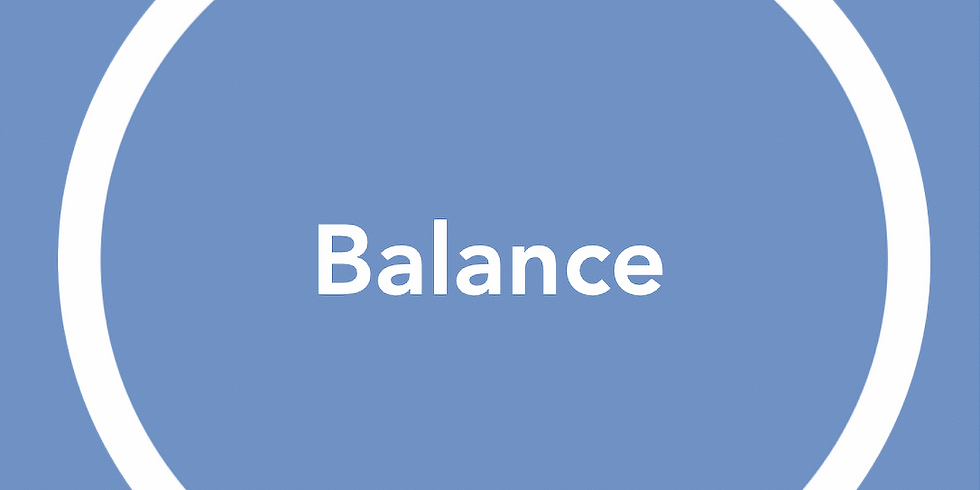 New Pathways Wellbeing Circles - Balance