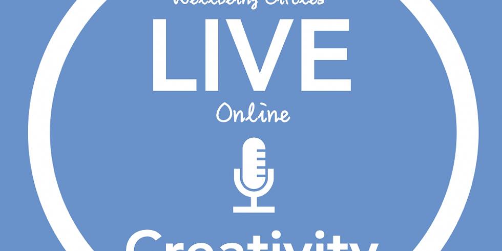 New Pathways Wellbeing Circles - ONLINE Creativity