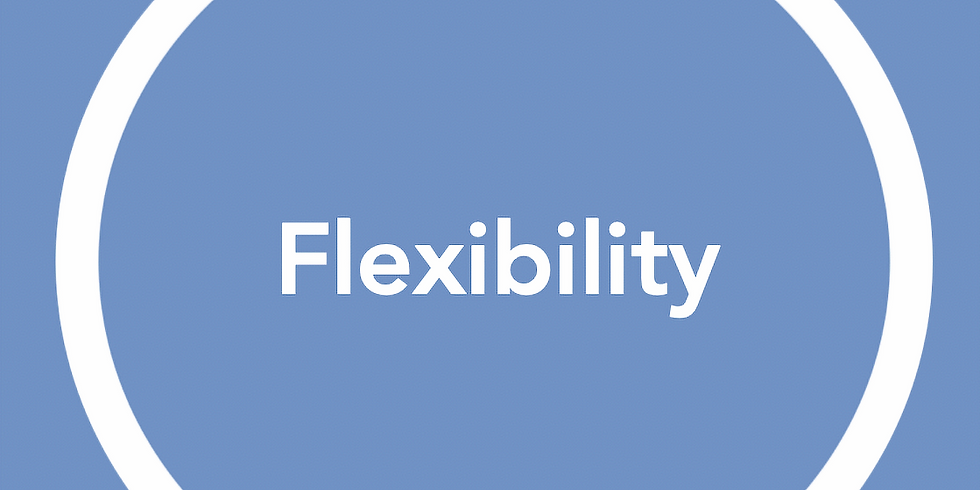 New Pathways Wellbeing Circles - Flexibility