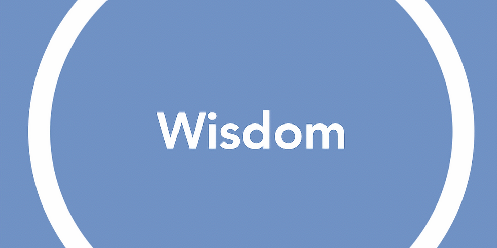 New Pathways Wellbeing Circles - Wisdom