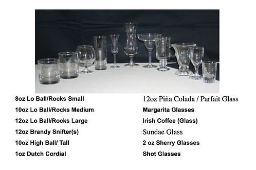 Glassware -  Punch Bowls