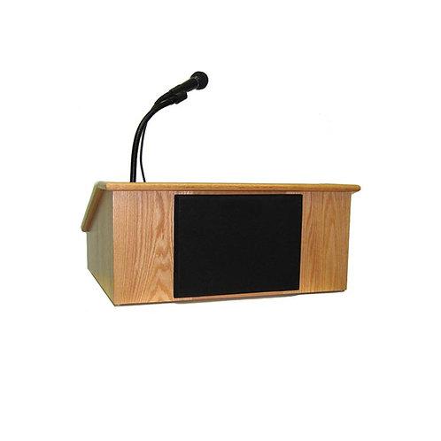 Wooden Lectern Podium table model