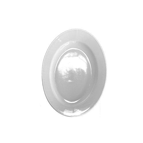 White China - Medium Oval Serving Platters