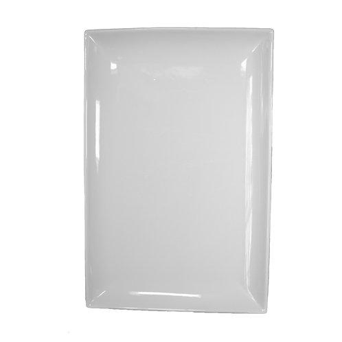 White China - Rectangular China Platter