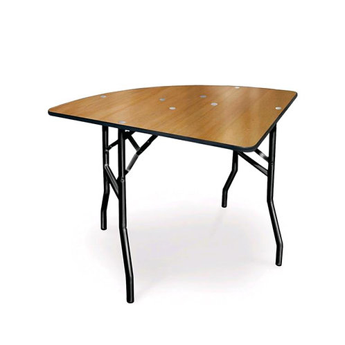 """1/4 60"""" Round Specialty Table"""