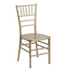 Chiavari Chairs w:cushion Gold
