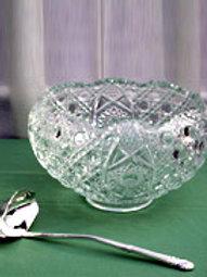 Glassware - Punch Bowl & Ladle  2 1/2 Gallon