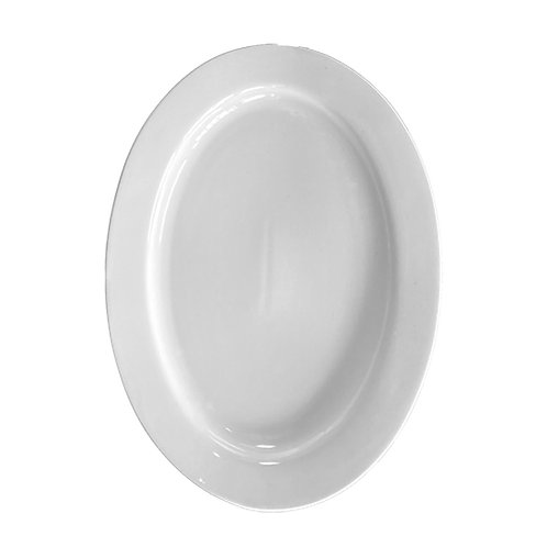 White China - Large Oval Serving Platters