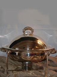6qt. Dome Silver