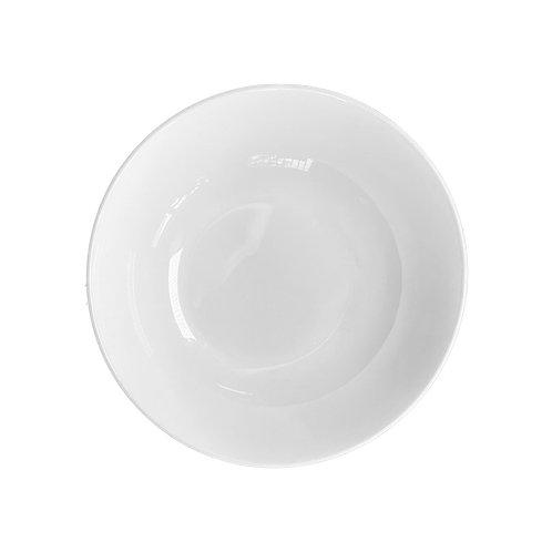 Ivory Fine White Bone China Salad/Soup Plates