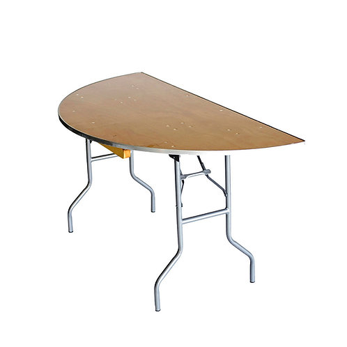 """1/2 60"""" Round Specialty Table"""