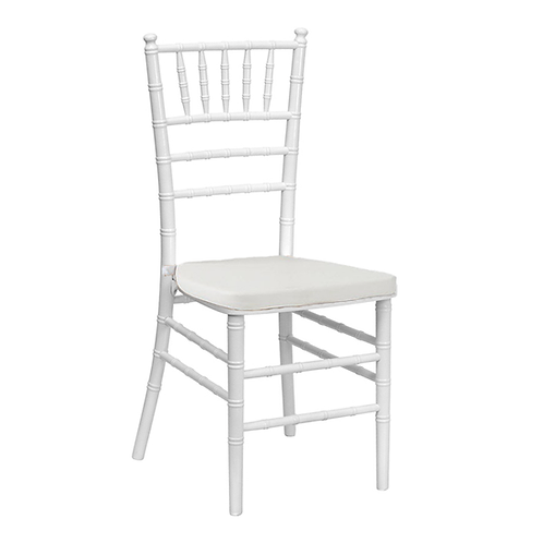 White Chavarri w/White Cushion