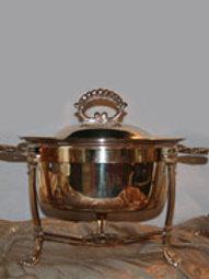 4qt. Round Silver or Copper