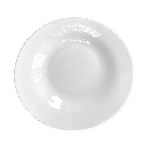 "Ivory Fine White Bone China 7"" Salad/Dessert Plates"