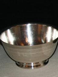 "8"" Silver Revere Bowls"