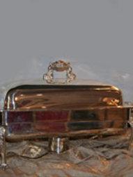 8qt. Rect. Silver or Copper