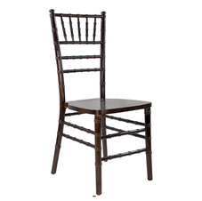 Chiavari Chairs w:cushion Fruitwood