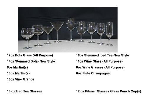 Glasses - Hurricane Glasses