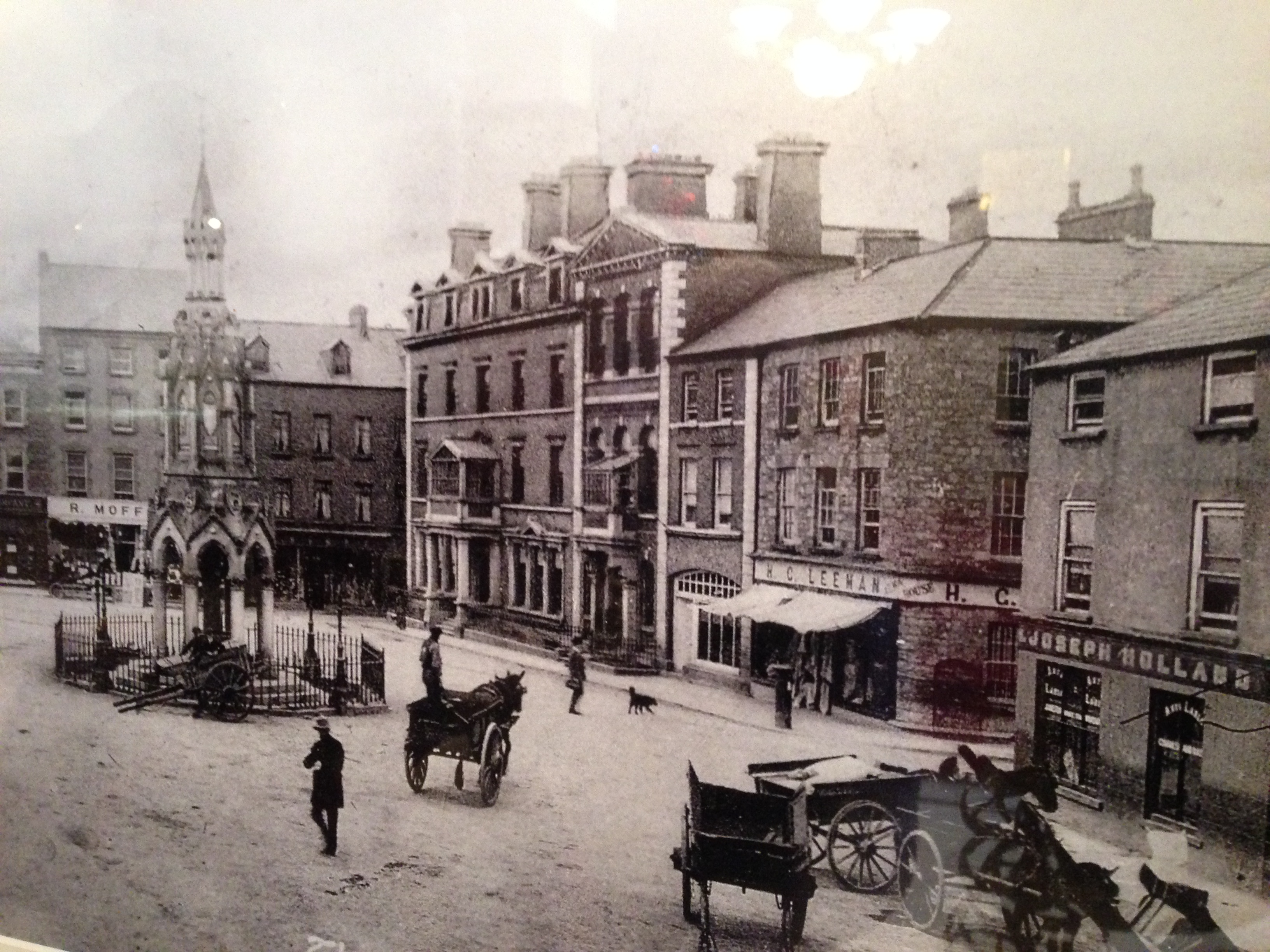 Knoxs Temperance Hotel Monaghan (Where George Jeffreys first met to form Elim).J