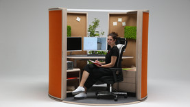 OFFICE SHELL - the solution for open-space offices
