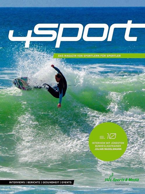 Ausgabe 4sport mit Alena Ehrenbold, Julian Nagelsmann u.v.m
