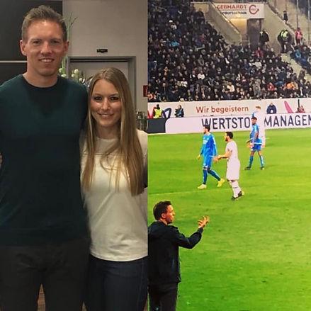 4Sport_Julian Nagelsmann und Nadine Herm