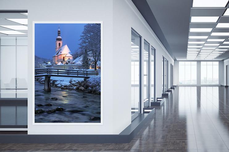 Foto von Grindelwald im Wohnzimmer
