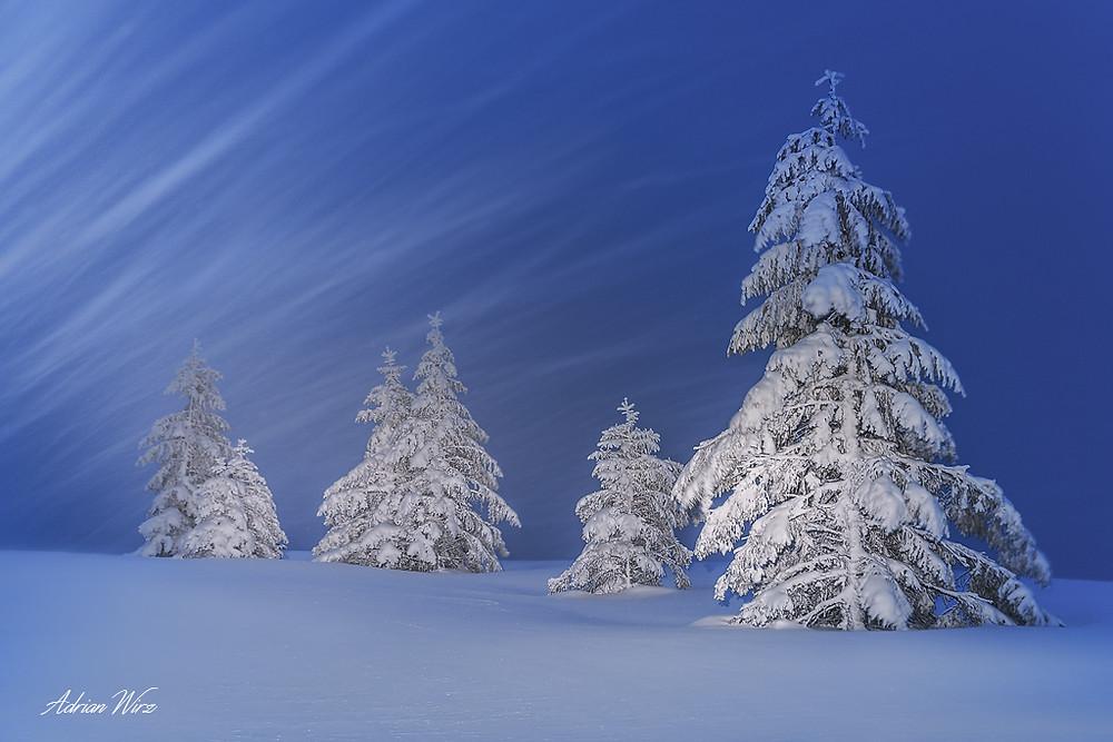 Schneesturm Grenchenberg