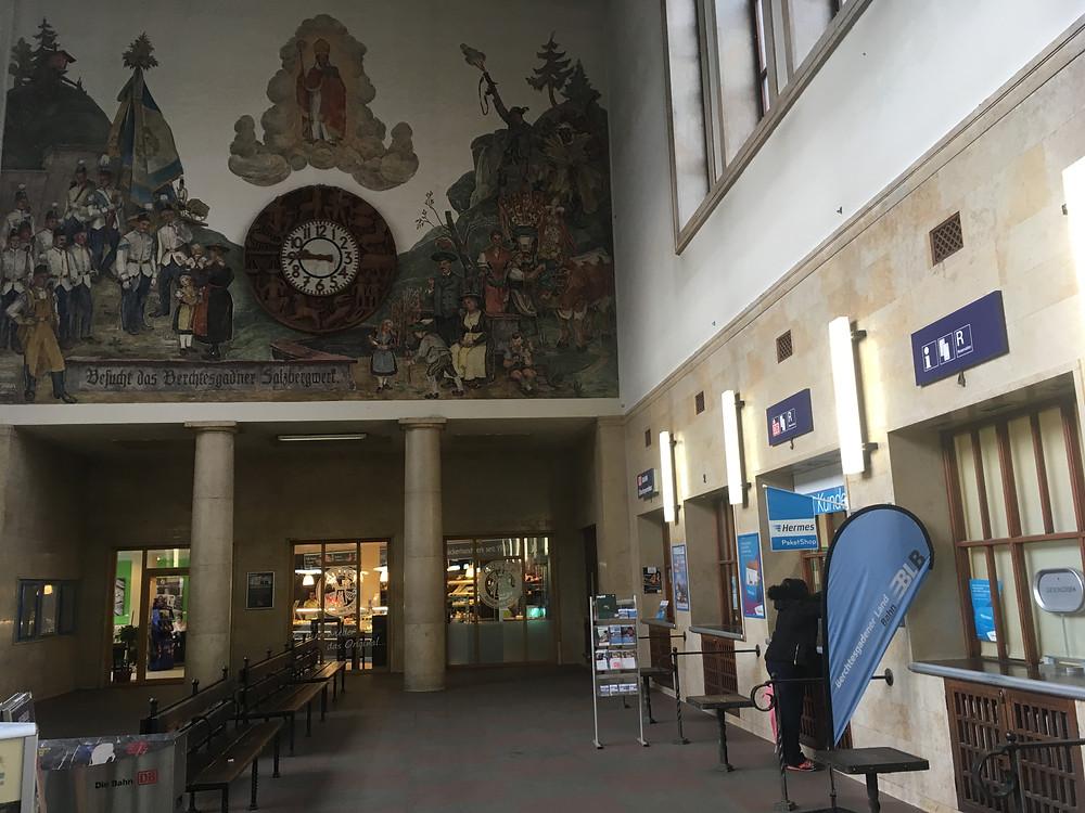 Bahnhof in Berchtesgaden