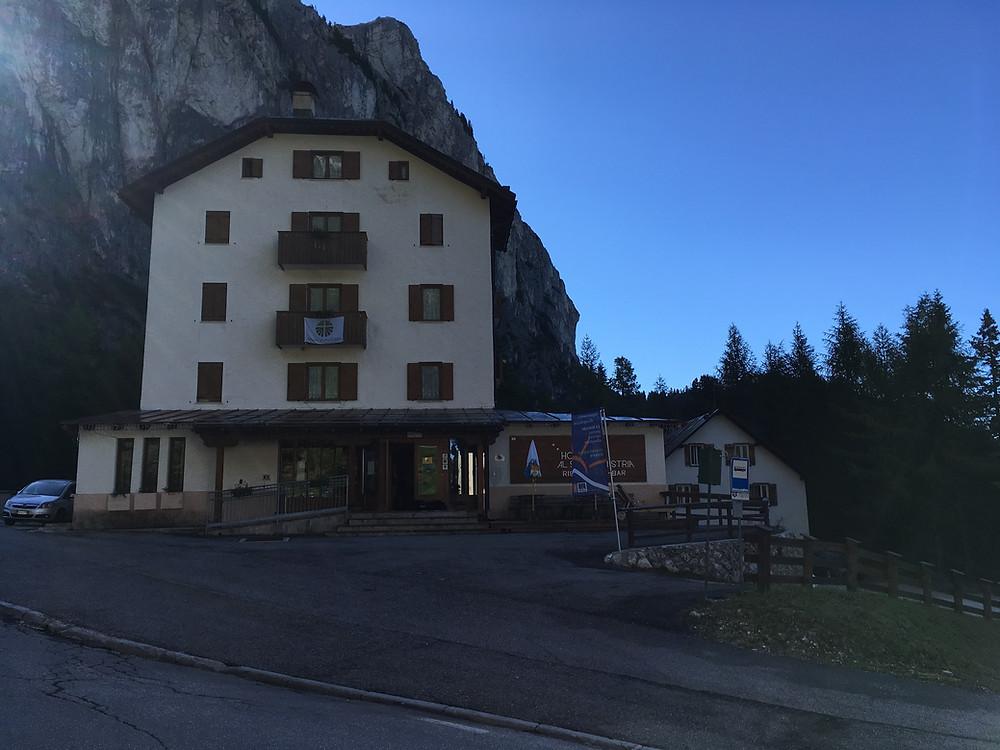 Hotel Al Sasso di Stria am Falzarego Pass
