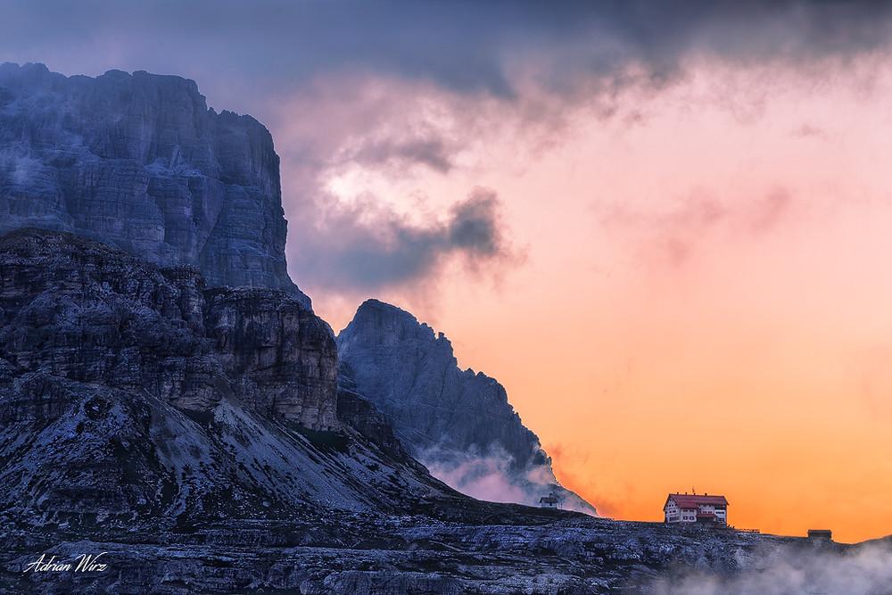 Drei Zinnen Hütte - Sextner Dolomiten