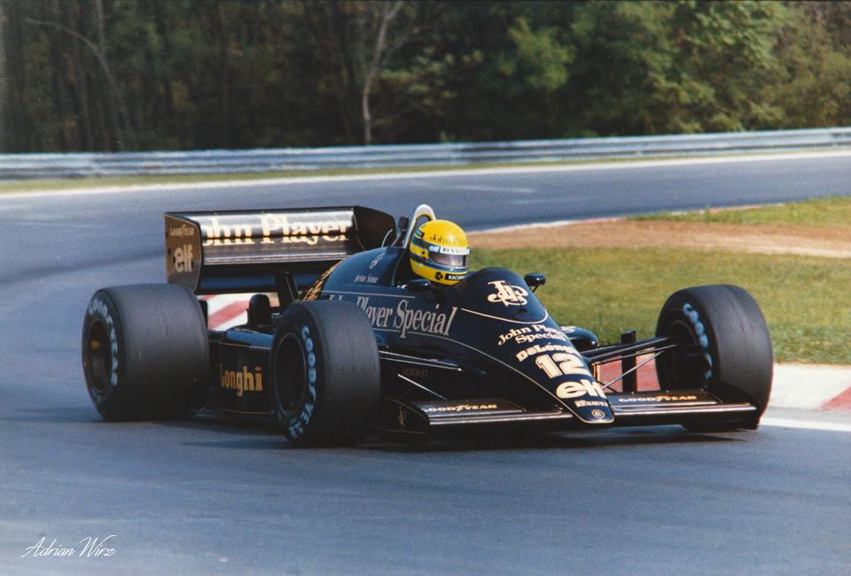 Ayrton Senna - Lotus Renault