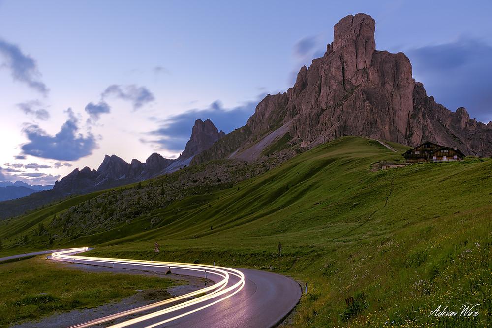 Passo di Giau in den Dolomiten