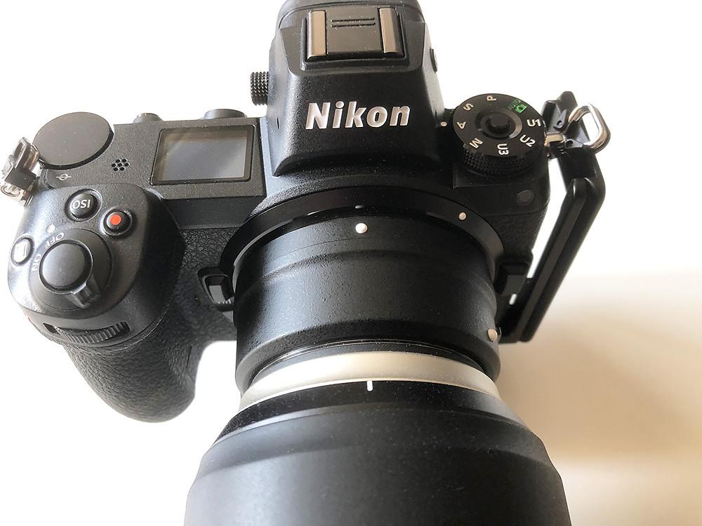 Nikon Z7 mit Tamron SP 70-200 2.8 Di VC USD G2
