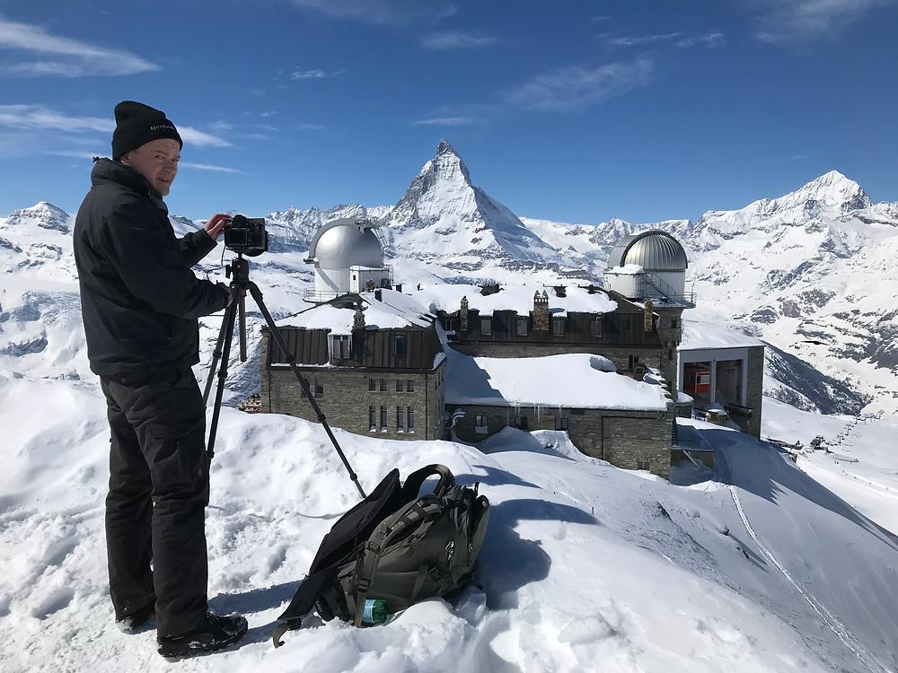Gornergrat mit Blick zum Matterhorn