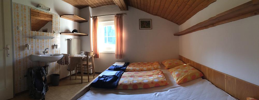 Zimmer im Berghaus Glatschalm