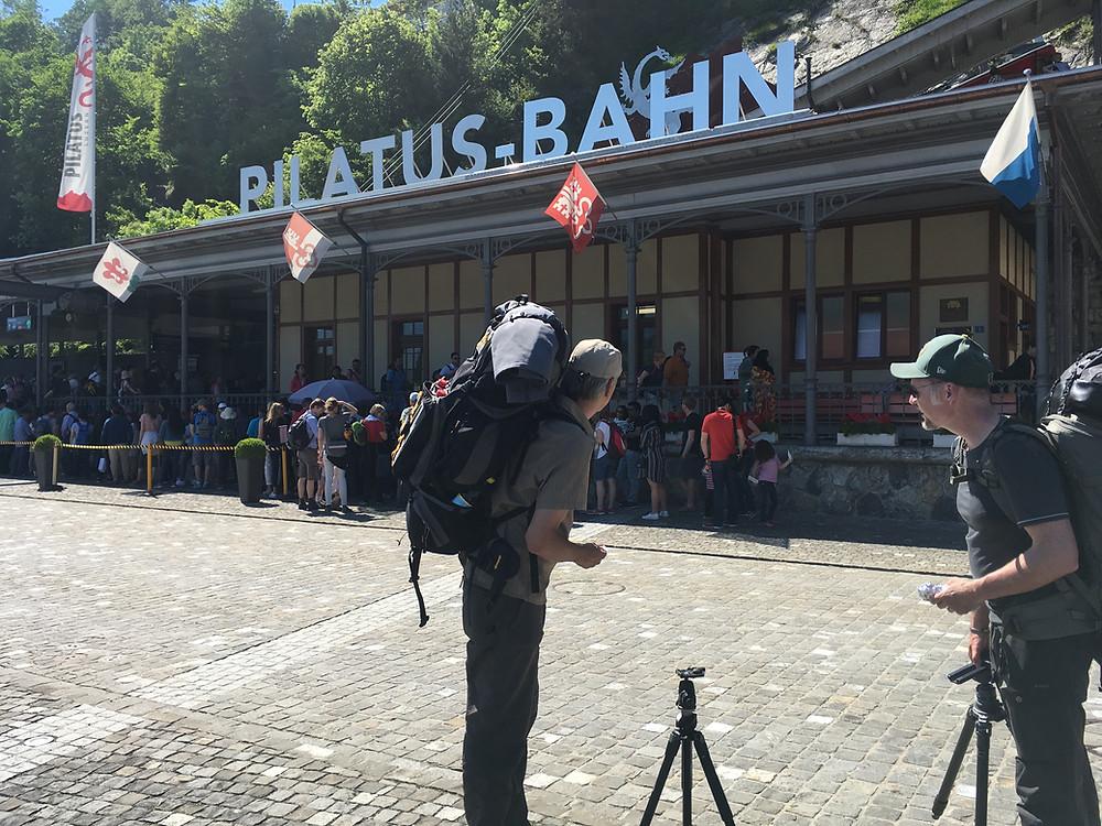 Pilatus Bahn Alpnachstad