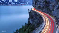 Strasse am Thunersee