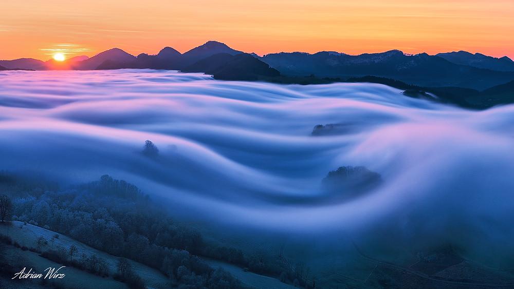 Jura Nebelwelle