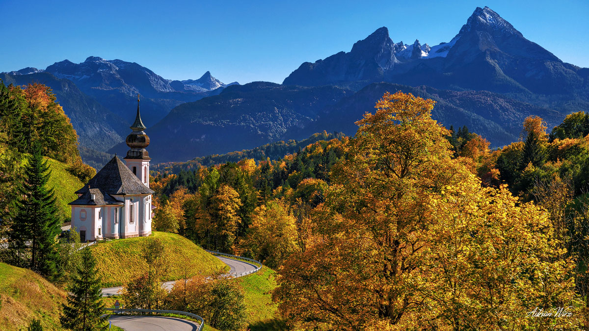 Berchtesgaden - Vollmond