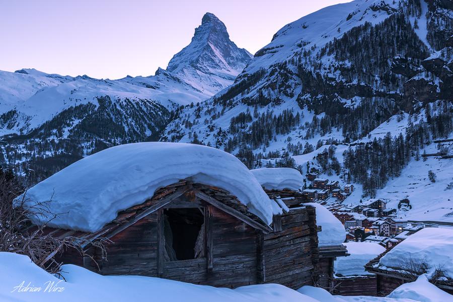 Matterhorn und Zermatt